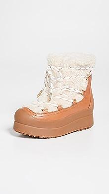 ba2a0eeb5 Tory Burch Courtney Shearling Boots