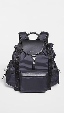WANT LES ESSENTIELS Avalon Backpack,Black Nylon Black