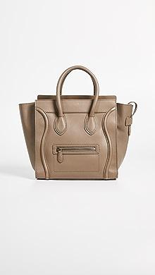 ed578c6b73d What Goes Around Comes Around. Celine Luggage Mini Bag