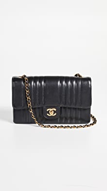 e2f6861813df What Goes Around Comes Around Chanel Patent Boy Small Bag | SHOPBOP