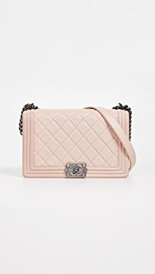 8bdae380fb3a Chanel Patent Boy Small Bag. YOU ALSO MIGHT LIKE. What Goes Around Comes  Around