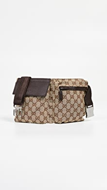 861b28975f0 Gucci Brown Canvas Waist Pouch ·  995.00. like it. What Goes Around Comes  Around