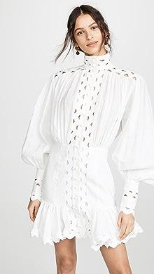 5cc959fdac82 Zimmermann Ninety-Six Patch Mini Dress | SHOPBOP