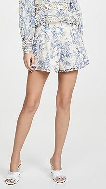 3fe5cf598 Zimmermann Allia High Rise Shorts | SHOPBOP