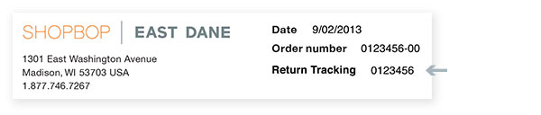 how to track amazon return package