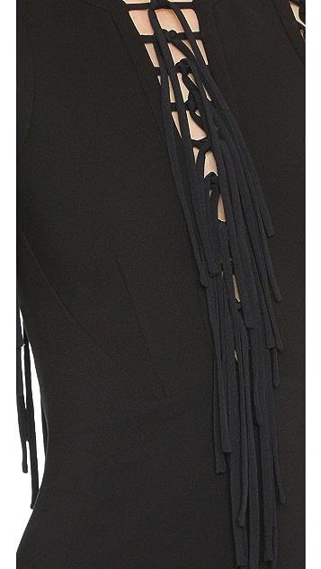 Antonio Berardi Fringe Dress