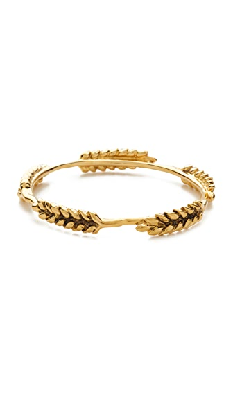 Aurelie Bidermann 5 Wheat Cobs Bracelet - Gold at Shopbop
