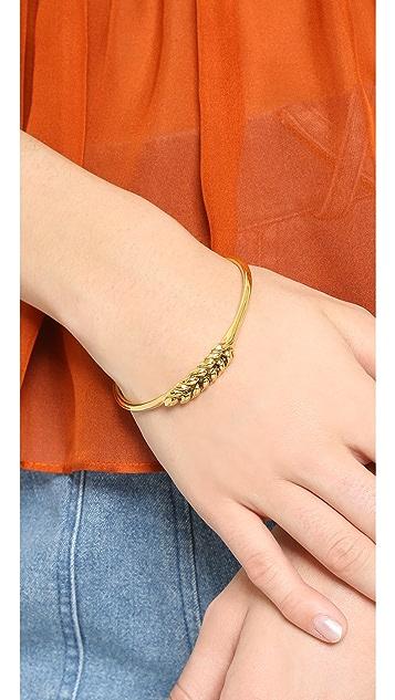 Aurelie Bidermann 1 Wheat Cob Bracelet