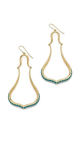 Aurelie Bidermann Sculpted Tribal Earrings - Gold at Shopbop