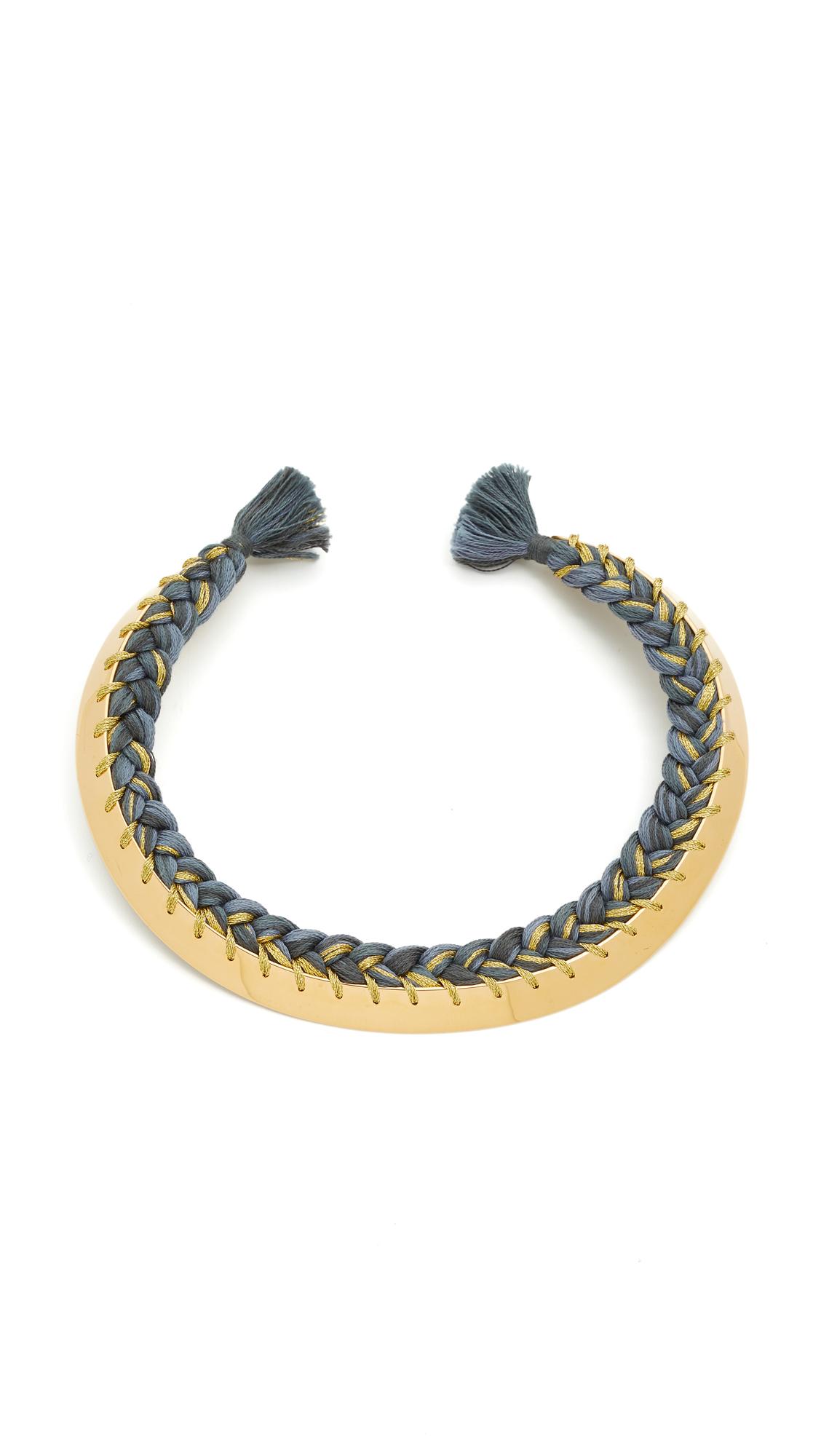 Aurelie Bidermann Copacabana Necklace - Charcoal at Shopbop