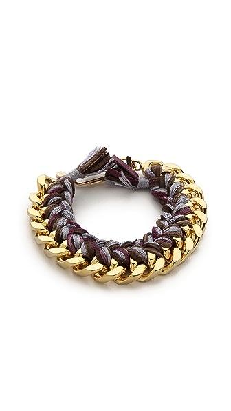 Aurelie Bidermann Do Brasil Bracelet - Mauve at Shopbop