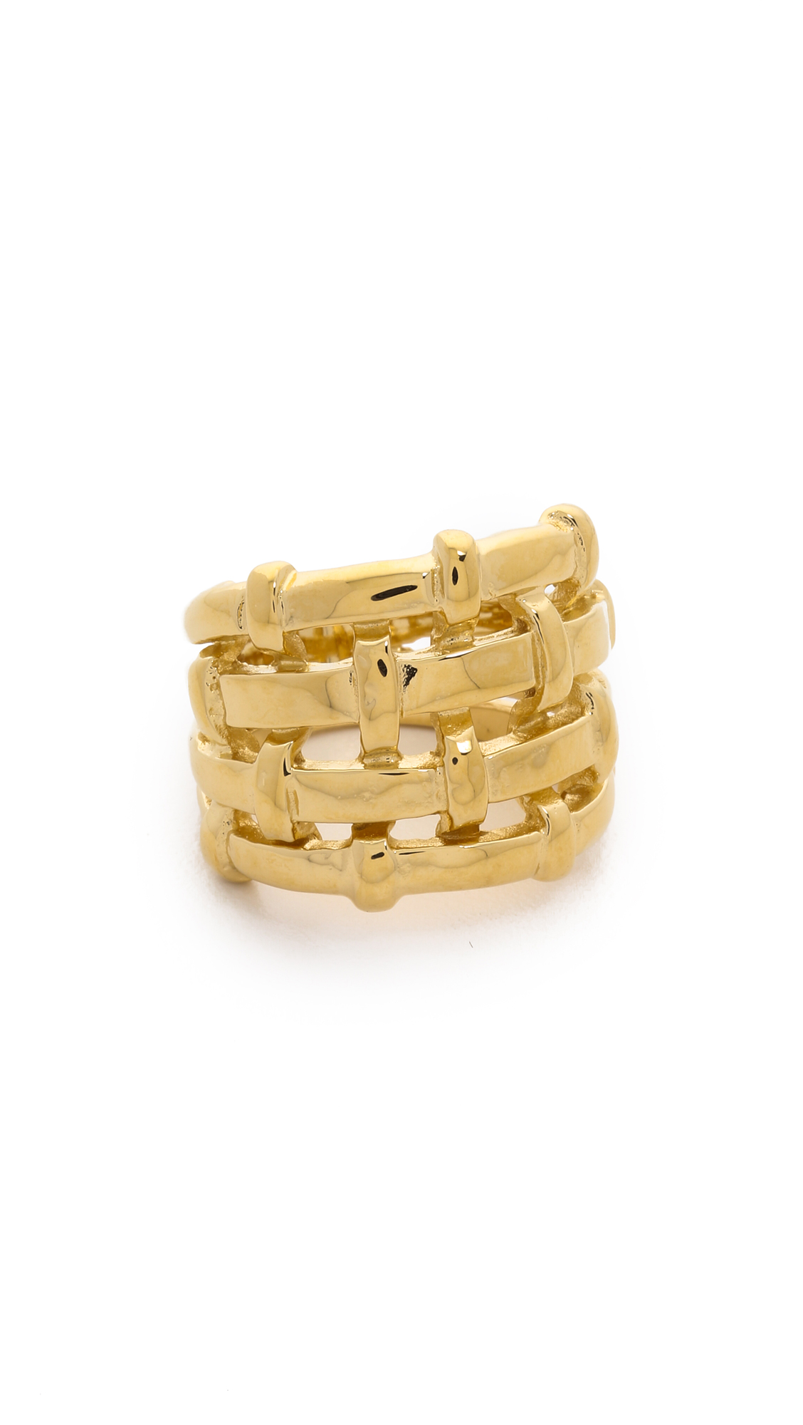Aurelie Bidermann Marella Ring - Gold at Shopbop