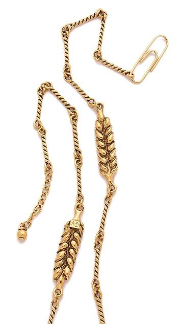 Aurelie Bidermann Wheat Long Necklace