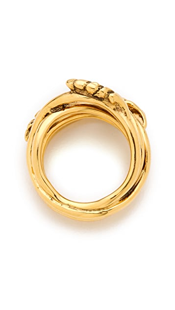 Aurelie Bidermann Wheat Ring