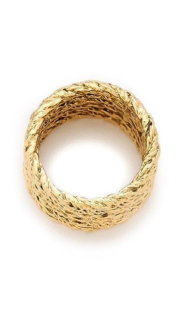 Aurelie Bidermann Multi Lasso Ring