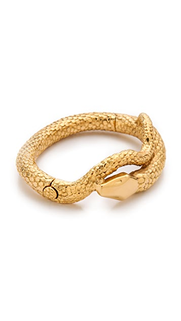 Aurelie Bidermann Snake Mamba Bracelet