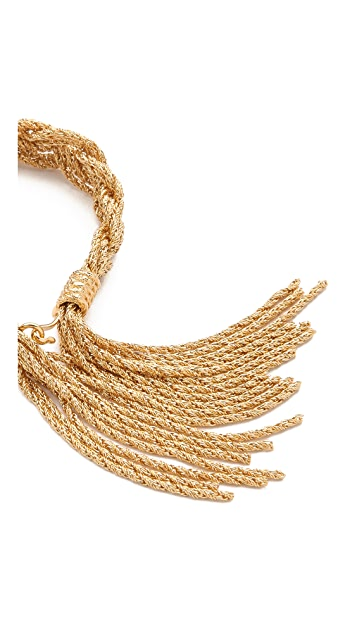 Aurelie Bidermann Miki Dora Rope Bracelet