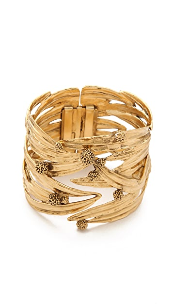Aurelie Bidermann Surfing Mimosa Articulated Cuff