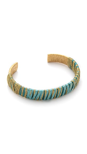 Aurelie Bidermann Ocean Beach Bangle with Threads