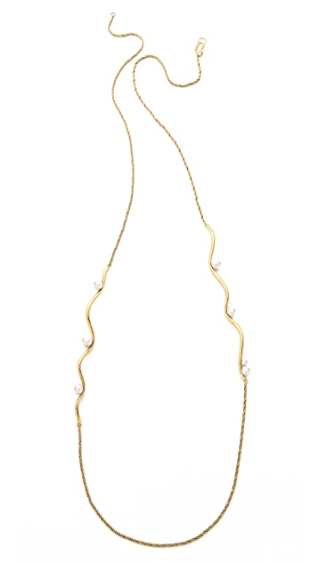 Aurelie Bidermann Long Cheyne Walk Necklace