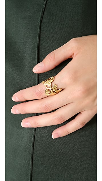 Aurelie Bidermann Tangerine Ring
