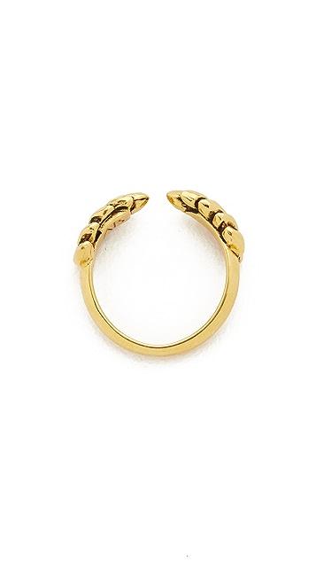 Aurelie Bidermann Wheat Cobs Ring