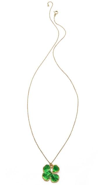 Aurelie Bidermann Organic Clover Necklace