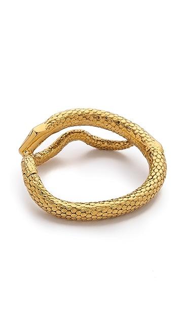 Aurelie Bidermann Articulated Snake Bracelet