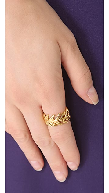 Aurelie Bidermann Lunada Bay Ring