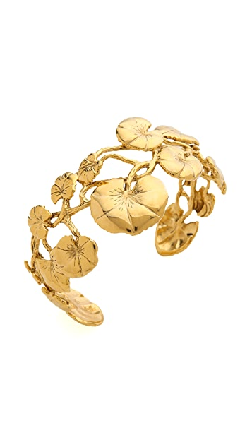 Aurelie Bidermann Nympheas Leaves Bangle