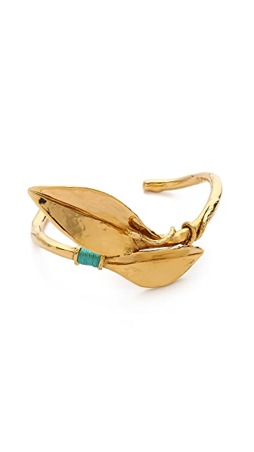 Aurelie Bidermann Monteroso Leaf Bangle
