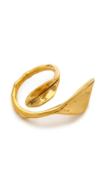 Aurelie Bidermann Leaf Ring