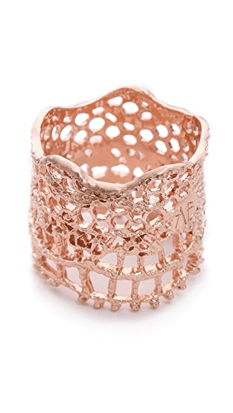Aurelie Bidermann Vintage Lace Ring