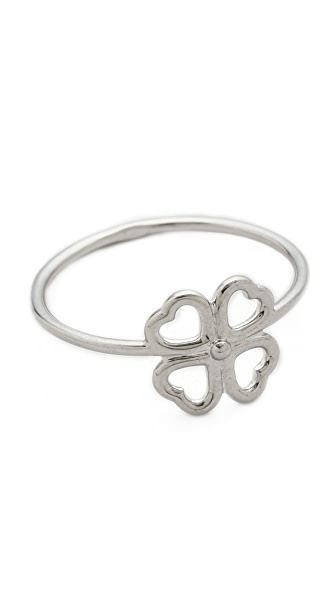 Aurelie Bidermann Mini Clover Ring