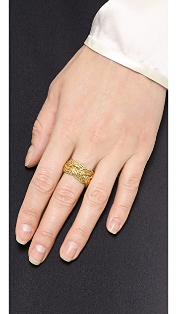 Aurelie Bidermann Miki Ring