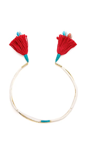 Aurelie Bidermann Tassel Necklace