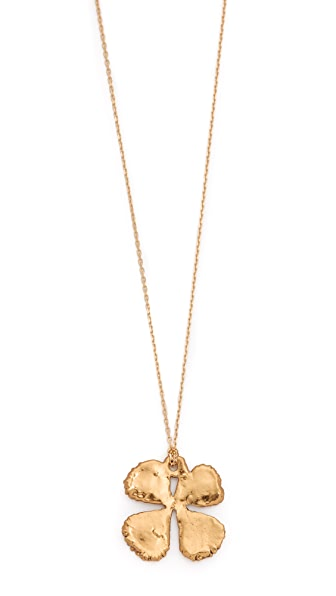 Aurelie Bidermann Fine Jewelry Clover Necklace