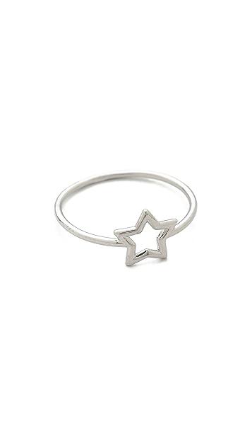 Aurelie Bidermann Fine Jewelry Silver Star Ring