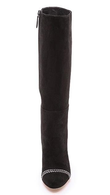 Alexandre Birman Zaha Suede Boots