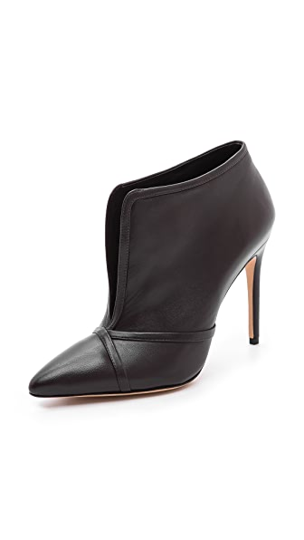 Alexandre Birman Magnolia Split Leather Booties