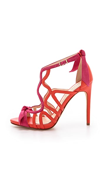 Alexandre Birman Caged Stiletto Sandals