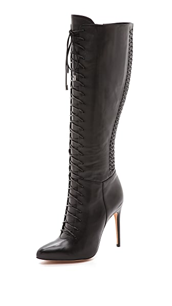Alexandre Birman Lace Up Boots