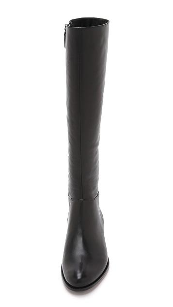 Alexandre Birman Leather Boots