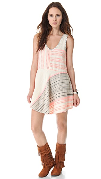ace&jig Shimmy Mini Dress