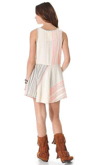 ace&jig Shimmy Mini Dress