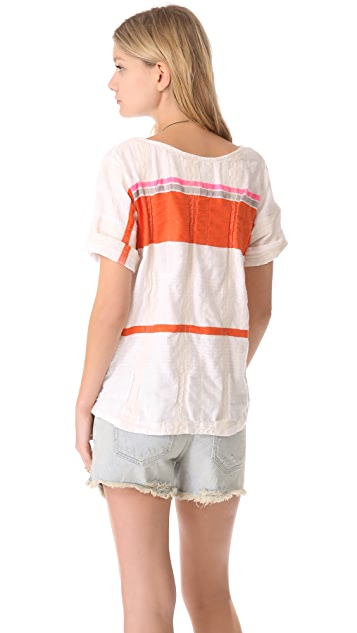 ace&jig Rolled Tee Blouse