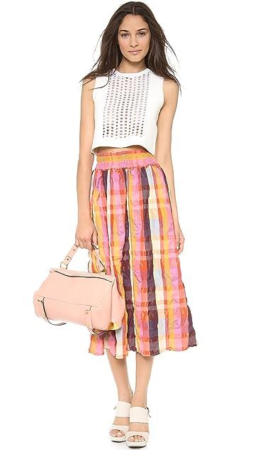 ace&jig Ra Ra Midi Skirt