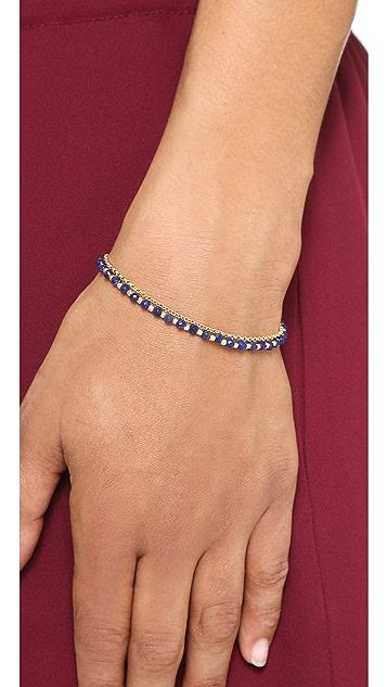 Astley Clarke Lapis Evil Eye Biography Bracelet