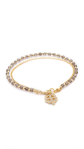 Astley Clarke Smoky Quartz Biography Bracelet