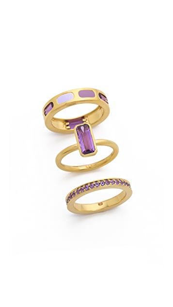 Astley Clarke Gem Stack Rings